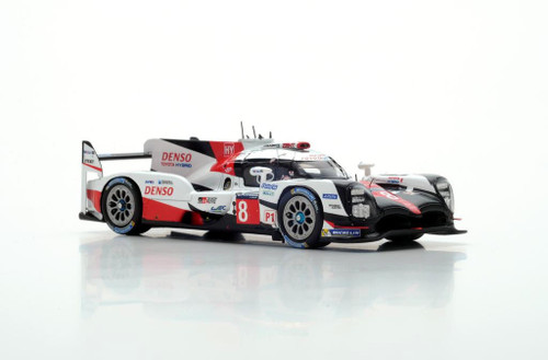 1/43 Spark Toyota TS050 HYBRID #8 8th Le Mans 2017 Buemi Davidson Car Model