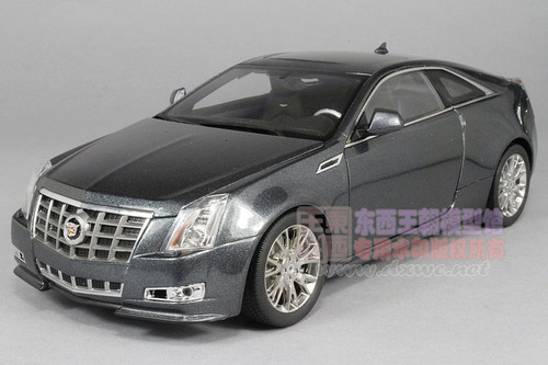 1/18 Kyosho Cadillac CTS Coupe (Grey) Diecast Car Model