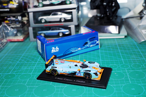 1/43 Spark Onroak Automotive Ligier JS P217 - Gibson - Tockwith Motorsports - Le Mans 2017 Car Model