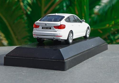 1/43 Dealer Edition BMW 3 Series GT 330i GT 340i GT (White) Diecast Car Model