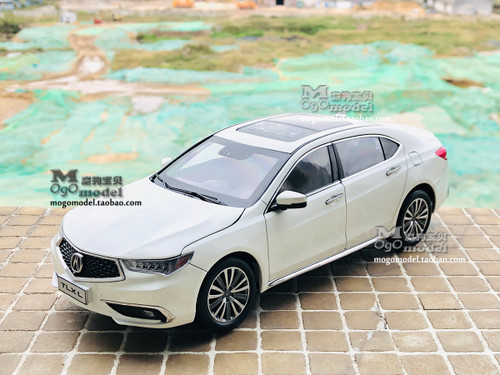 1/18 Dealer Edition 2018 Acura TLX (White) Diecast Car Model