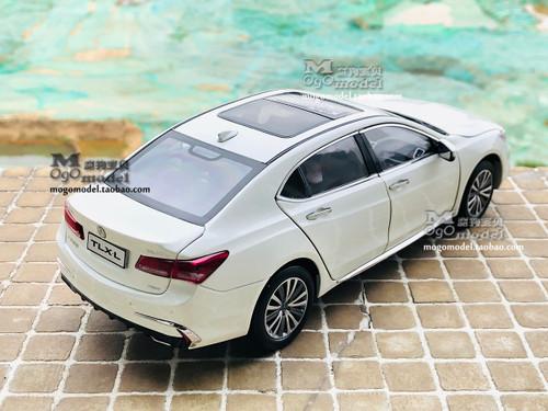 1/18 Dealer Edition 2018 Acura TLX (White) Diecast Car Model