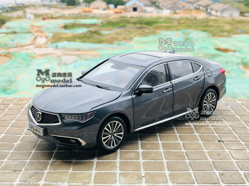 1/18 Dealer Edition 2018 Acura TLX (Grey) Diecast Car Model