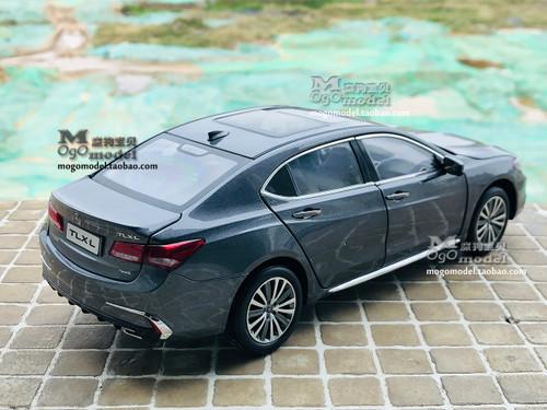 1/18 Dealer Edition 2018 Acura TLX (Grey) Diecast Car Model