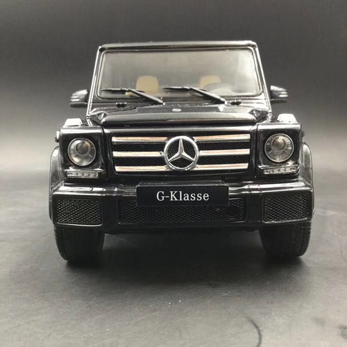 1/18 iScale Mercedes-Benz MB G-Class G-Klasse G500 (Black) Diecast Car Model