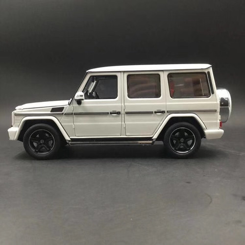 1/18 iScale Mercedes-Benz MB G-Class G-Klasse G500 (White) Diecast Car Model