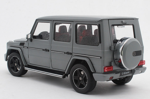 1/18 iScale Mercedes-Benz MB G-Class G-Klasse G500 (Matte Grey) Diecast Car Model