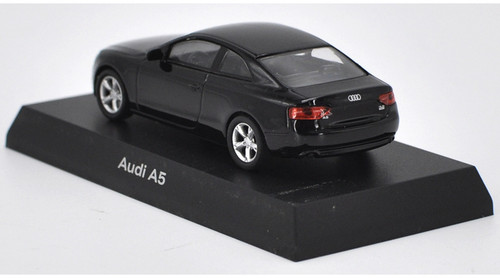 1/64 Kyosho Audi A5 (Black) Diecast Car Model