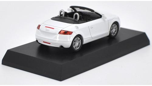 1/64 Kyosho Audi TT Roadster (White) Diecast Car Model