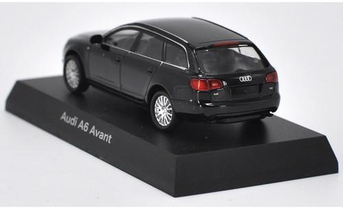 1/64 Kyosho Audi A6 Avant (Black) Diecast Car Model