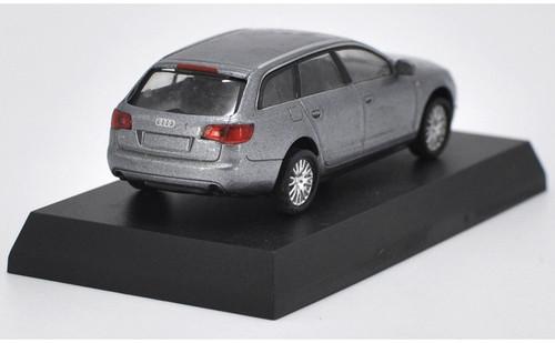 1/64 Kyosho Audi A6 Avant (Grey) Diecast Car Model