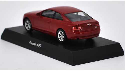1/64 Kyosho Audi A5 (Red) Diecast Car Model