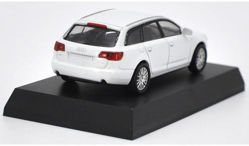 1/64 Kyosho Audi A6 Avant (White) Diecast Car Model