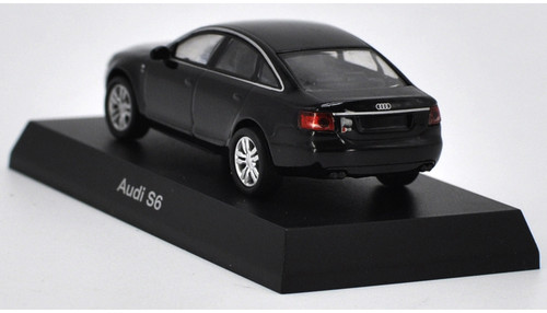 1/64 Kyosho Audi S6 (Black) Diecast Car Model