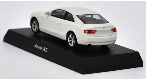 1/64 Kyosho Audi A5 (White) Diecast Car Model