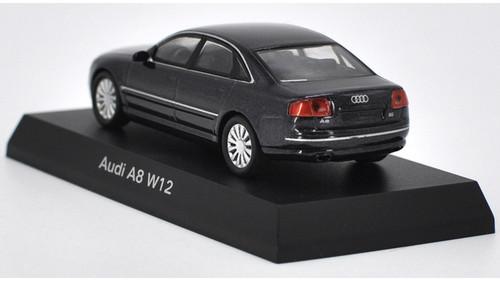 1/64 Kyosho Audi A8 W12 (Grey) Diecast Car Model