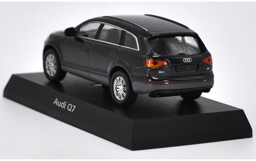 1/64 Kyosho Audi Q7 (Black) Diecast Car Model