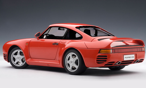 1/18 AUTOart PORSCHE 959 - RED Diecast Car Model 78082