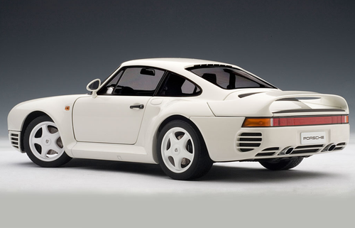 1/18 AUTOart PORSCHE 959 - WHITE Diecast Car Model 78083
