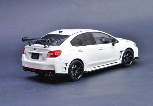 1/18 Sunstar Subaru WRX STI S207 (White) Diecast Car Model