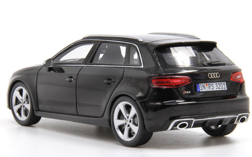 1/43 Spark Audi RS3 Sportback (Black) Diecast Car Model