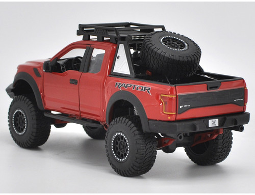 1/24 Maisto Ford F-150 F150 Raptor (Red) Diecast Car Model