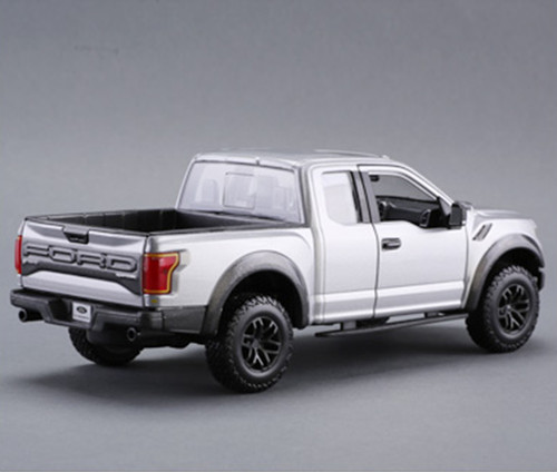 1/24 Maisto Ford F-150 F150 Raptor (Silver) Diecast Car Model