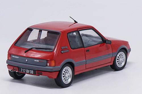 1/18 Norev 1991 PEUGEOT 205 GTI (Red) Diecast Car Model