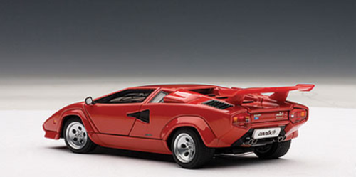 1/43 AUTOart LAMBORGHINI COUNTACH 5000 S 5000S - RED WITH OPENINGS Diecast Car Model