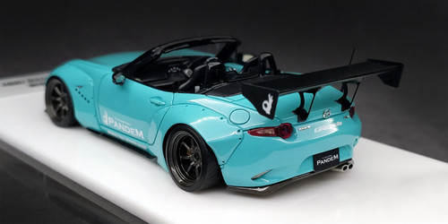 1/43 MAKEUP Make Up Mazda MX-5 MX5 Pandem (Green Blue) Diecast Car Model Limited 50
