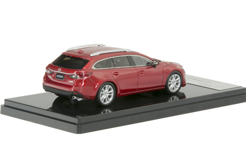 1/43 WIT'S WITS Mazda 6 / Atenza Wagon (Red) Diecast Car Model