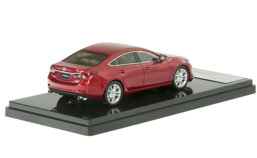 1/43 WIT'S WITS Mazda 6 / Atenza Sedan (Red) Diecast Car Model