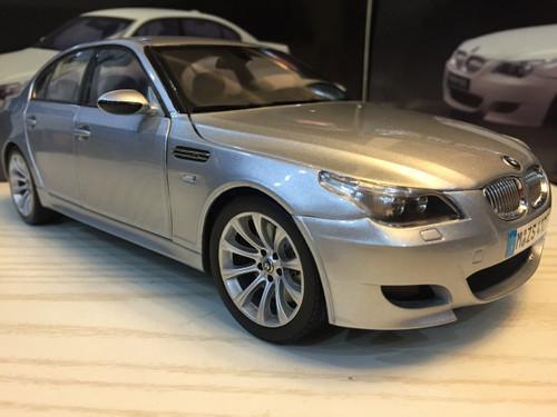 RARE 1/18 Kyosho BMW E60 M5 (Silver) Diecast Car Model