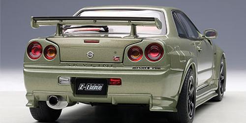 1/18 AUTOart NISMO R34 GT-R GTR Z-TUNE (MILLENNIUM JADE)(LIMITED EDITION OF 2,000 PCS WORLDWIDE) Diecast Car Model