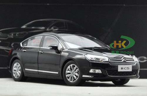 1/18 Dealer Edition Citroen C5 (Black) Diecast Car Model