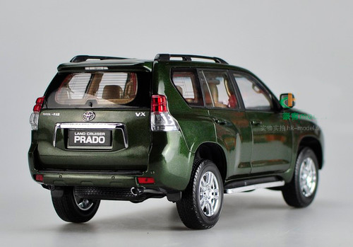 1/18 Dealer Edition Toyota Prado (Green) Diecast Car Model
