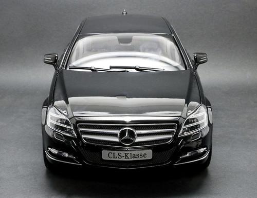 1/18 Norev Mercedes-Benz MB CLS CLS-Class CLS-Klasse (Black) Diecast Car Model