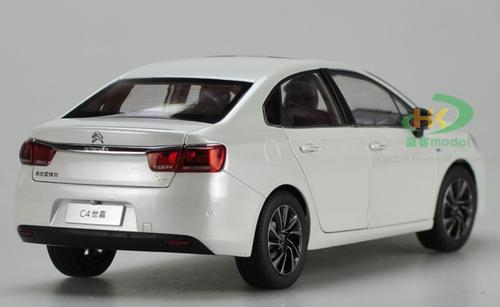 1/18 Dealer Edition 2016 Citroen C4 Sedan (White) Diecast Car Model