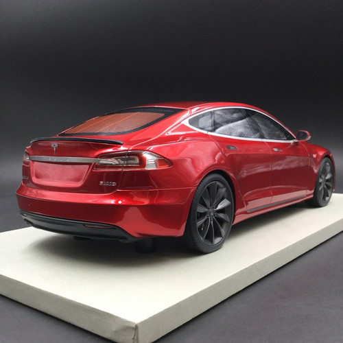 1/18 LS Collectibles Tesla Model S P100D (Red) Car Model