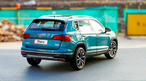 1/18 Dealer Edition Volkswagen VW Tharu (Blue) Diecast Car Model