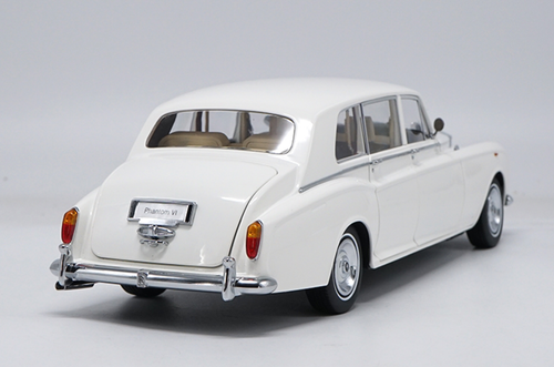 1/18 Kyosho 1968 ROLLS-ROYCE PHANTOM VI (WHITE) Hardtop Diecast Car Model