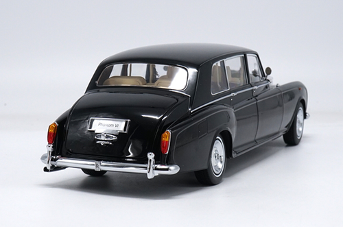 1/18 Kyosho 1968 ROLLS-ROYCE PHANTOM VI (BLACK) Hardtop Diecast Car Model