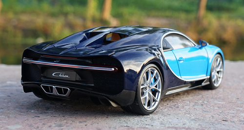1/18 GTAUTOS GTA Bugatti Chiron (Blue) Diecast Car Model