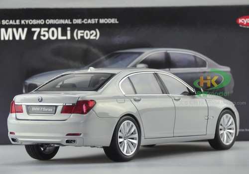 1/18 Kyosho BMW F02 7 Series 750Li (Silver) Diecast Car Model