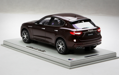 1/18 BBR Maserati Levante (Wine Red) Enclosed Resin Model