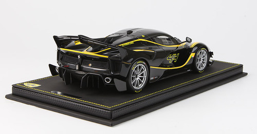 1/18 BBR Ferrari LaFerrari FXXK EVO Nero Stellato Car No.44 #44 Enclosed Resin Model Limited 8