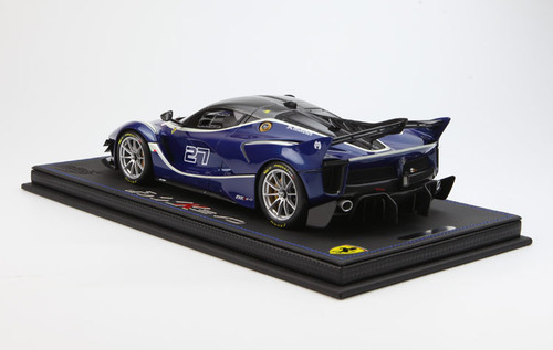 1/18 BBR Ferrari LaFerrari FXXK EVO BlueTourDeFrance Car No.27 #27 Enclosed Resin Model Limited 8