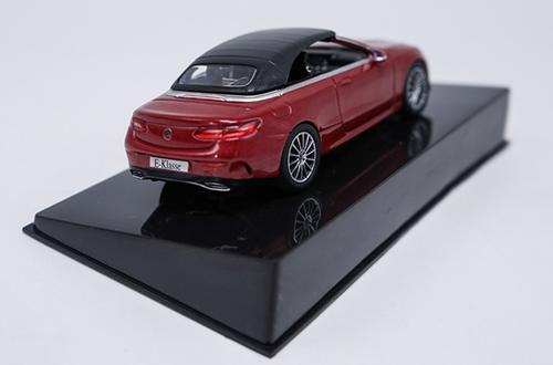 1/43 Dealer Edition Mercedes-Benz MB E-Class E-Klasse Coupe (Red) Diecast Car Model