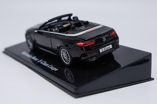 1/43 Dealer Edition Mercedes-Benz MB E-Class E-Klasse Coupe (Black) Diecast Car Model