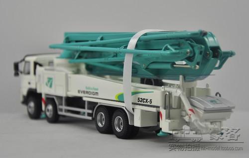 1/50 Everdigm Volve 52CX-5 Concrete Pump Truck